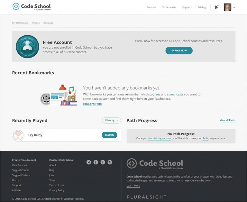 Code School learn programming code